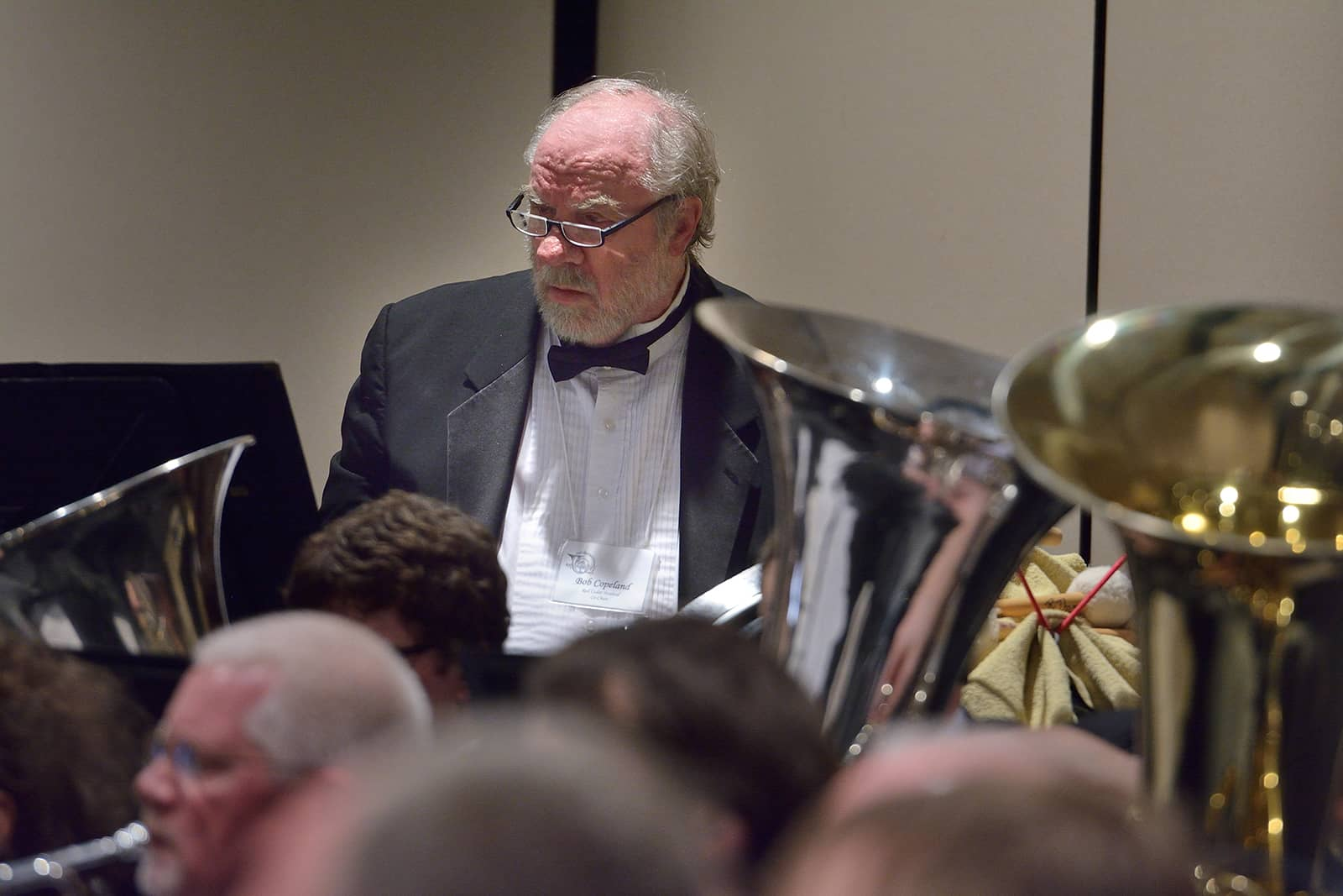 Rob Copeland performing in Meridian Community Band