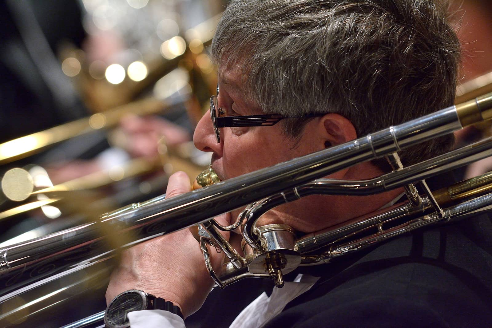 Meridian Community Band Trombone Player